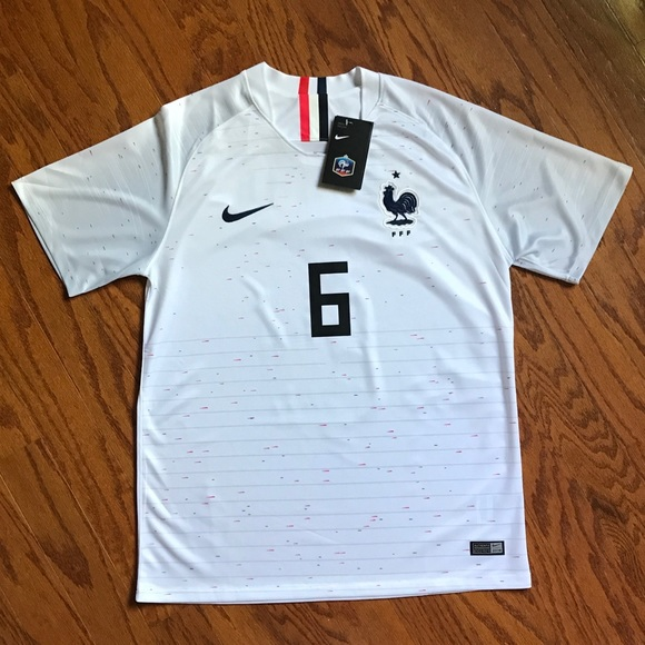 ef002769556 NWT World Cup 2018 France Jersey Pogba Jersey
